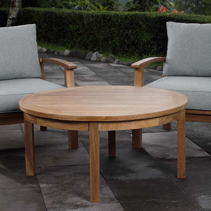 Mariana Teak Round Coffee Table